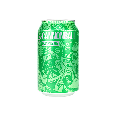Magic Rock Cannonball IPA Cans